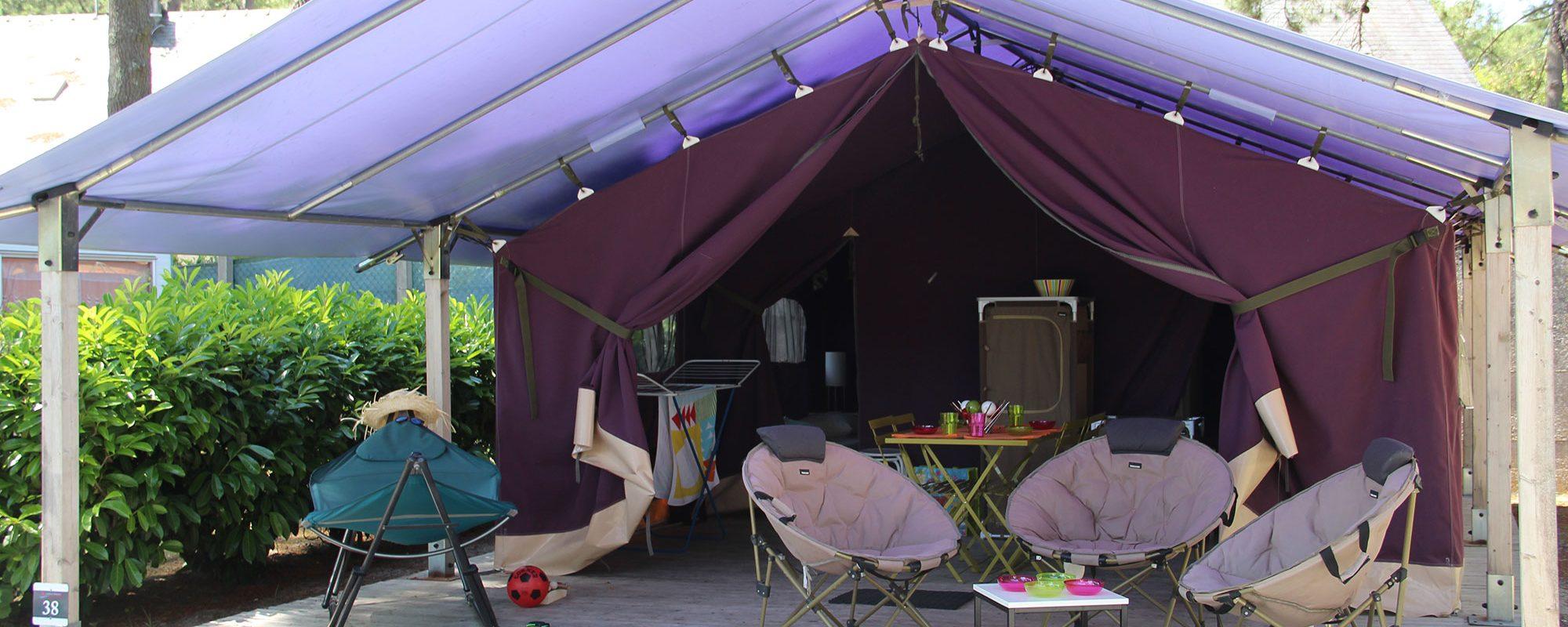 Location de mobil-home Aloa 2 chambre à Guérande : exterieur