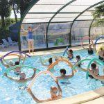 Activité camping aquagym