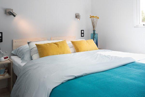 Location de mobil-home Corail 3 chambres à Guérande : chambre