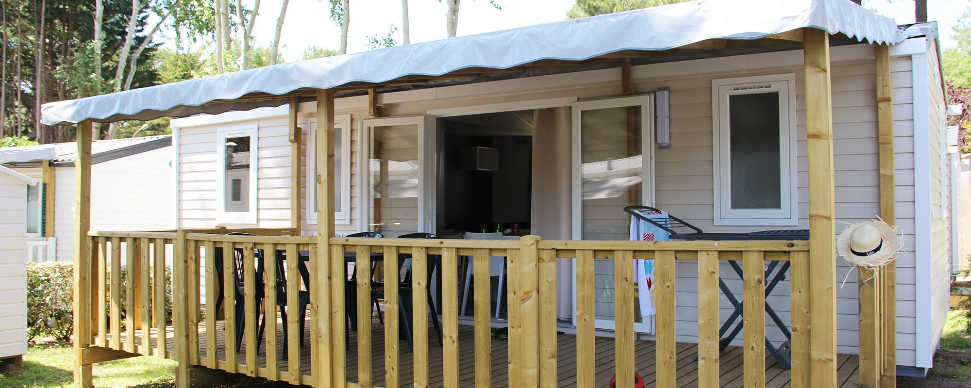 mobilhome cordelia en vente camping à proximité de Guérande