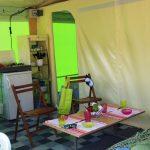 Location de tente éole 4 personnes à Guérande : cuisine
