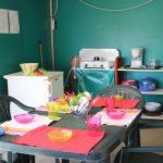 Location de tente kiwi Loire Atlantique : cuisine