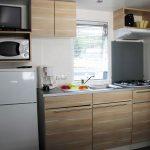 Location de mobilhome pêcheur Loire Atlantique : cuisine