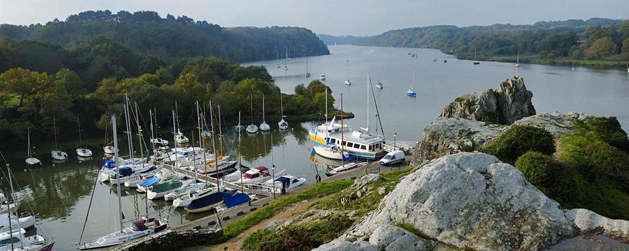le port de la Roche Bernard à proximité du camping Pont Mahé