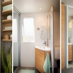 Location de mobilhome xxl évasion Loire Atlantique : 2 salles d'eau